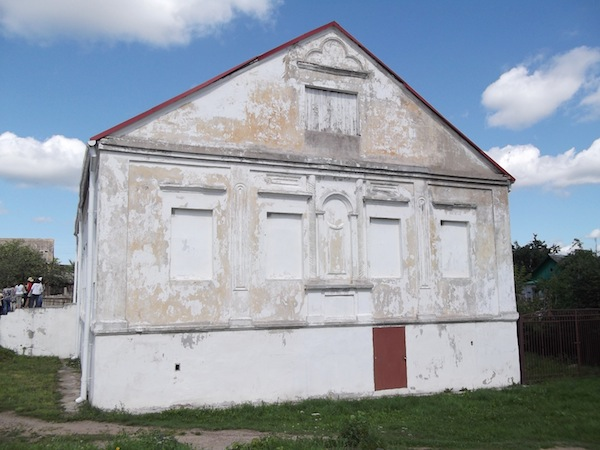 photo - Volozhin Yeshivah in Belarus, 2017. In learning about the institution, Mark Weintraub was moved to sponsor a lecture on it, in honour of his mother, and to champion restoration efforts