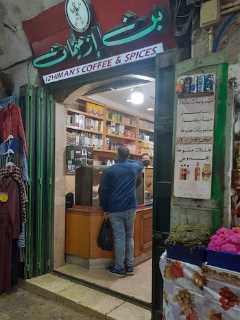 photo - Izhiman's has grown to a chain of six stores, with a presence in Jerusalem, Ramallah and Bethlehem
