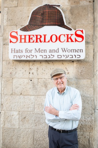 photo - Yaacov Peterseil is owner of SherlockS