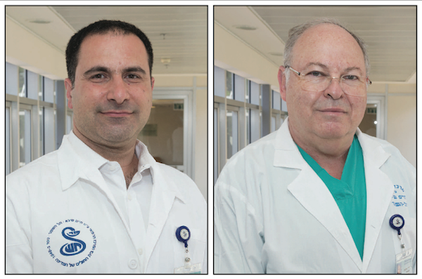photo - Dr. Liran Levy, left, and Dr. Milton Saute