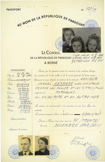 image - As many as 10,000 forged passports may have been obtained, but most reached their intended recipients too late. Of about 3,200 passports issued to individuals whose names are known, it is estimated that about 800 individuals survived the war