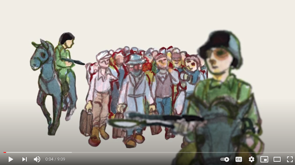 image - A graphic novel co-created by artist Miriam Libicki and Holocaust survivor David Schaffer for the Narrative Art & Visual Storytelling in Holocaust & Human Rights Education project