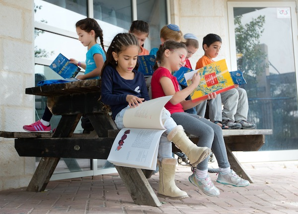 photo - Sifriya Pijama has created approximately 100 books in Hebrew and Arabic
