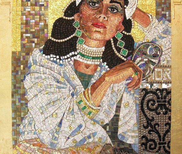 """Queen Esther Revealing Her True Identity"" by Lilian Broca"