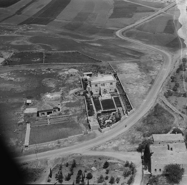 photo - Hajj Amin al-Husseini's mansion in the Sheikh Jarrah neighbourhood circa 1938