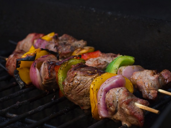 photo - Grilled skewers make great Lag b'Omer fare