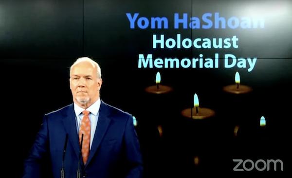 B.C. observes Yom Hashoah