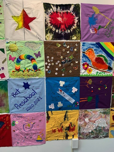 photo - Another part of the Chai Quilt at Zack Gallery