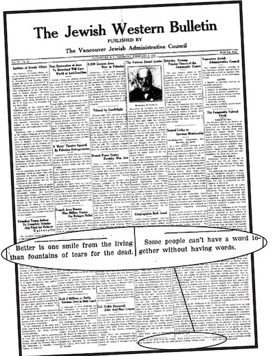 image - Cover of the Feb. 8, 1934, JWB