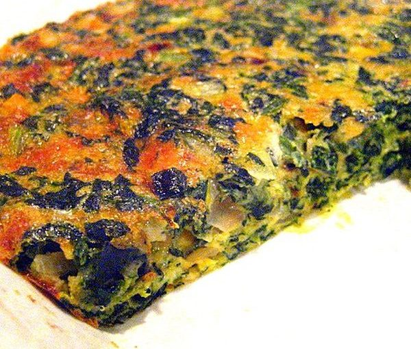 photo - With spinach cheese pie, there likely won't be leftovers
