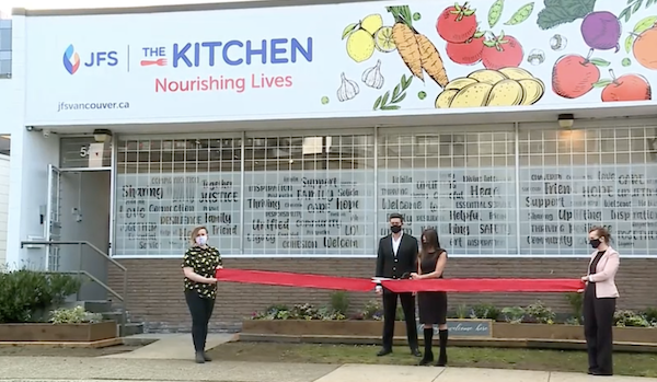 The Kitchen food hub opens