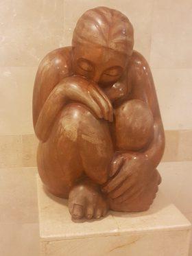 photo - Sculpture by 90-year-old Kati Paldi