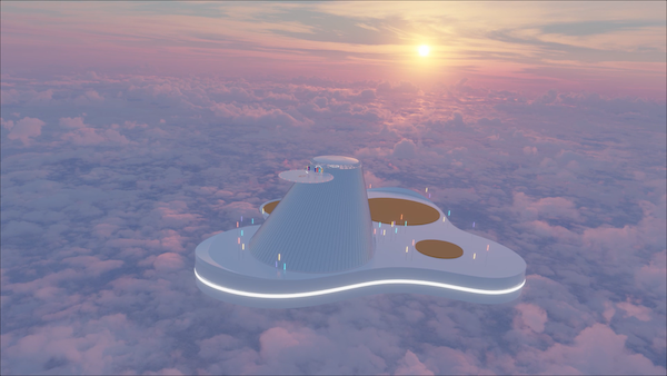 """screenshot - JFS fundraiser takes guests on """"plane ride"""" to a place above the clouds"""