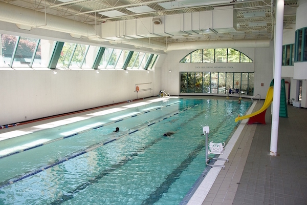 photo - One of the reasons the Jewish Community Centre of Greater Vancouver is being redeveloped is that its amenities, like the gymnasium and swimming pool, are aging. (photos from miss604.com)