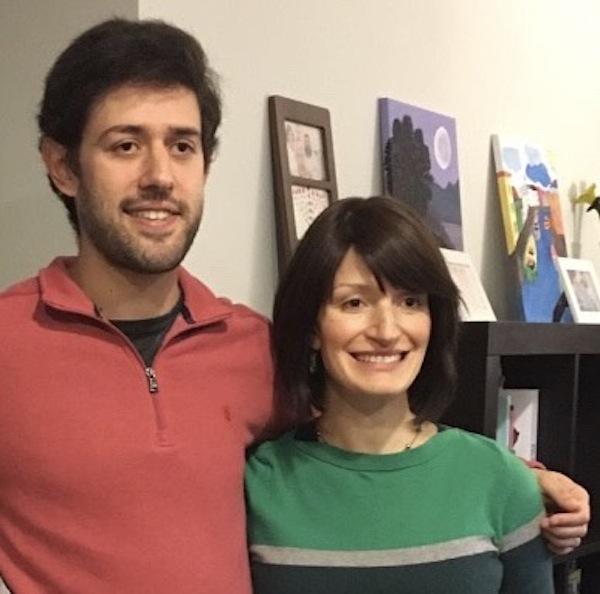 photo - Bernard Grempel with his sister, Ettie Shurack