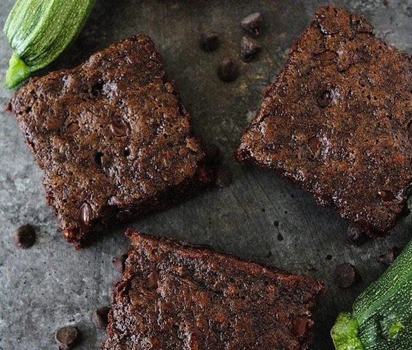 photo - zucchini brownies