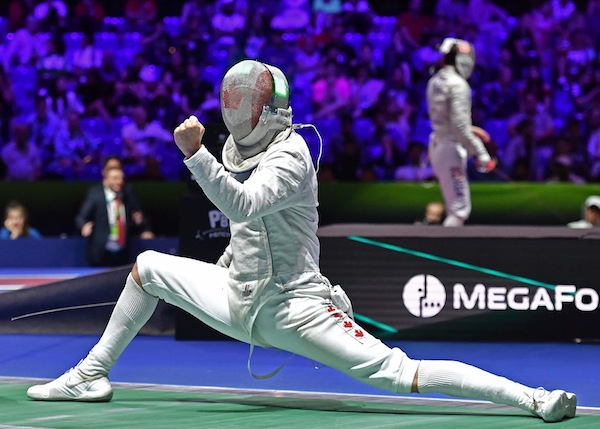 photo - Israeli fencer Shaul Gordon will participate in the Olympics on behalf of Canada