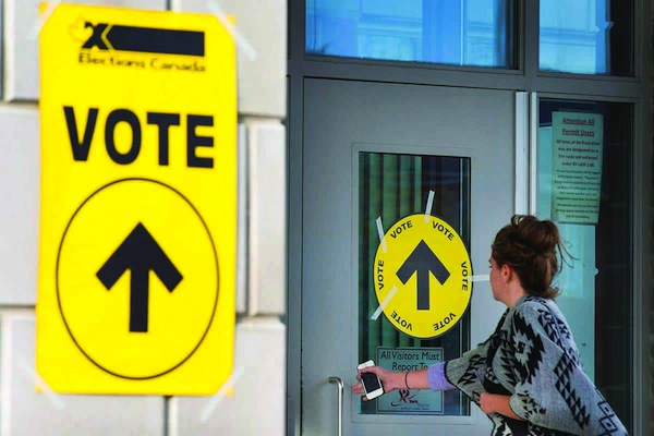Canadians head to the polls