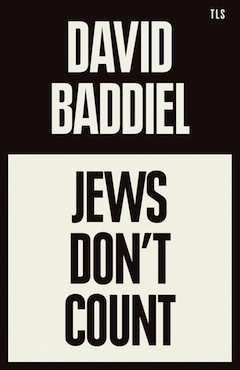 image - Jews Don't Count book cover