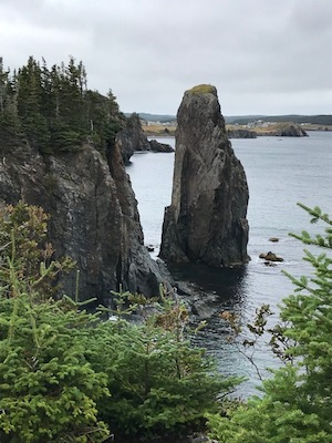 photo - A view on Newfoundland's Skerwink Trail