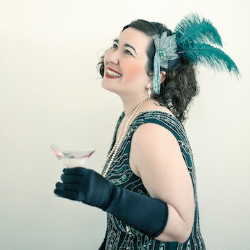 photo - Melanie Gall brings her show A Toast to Prohibition to the Fringe