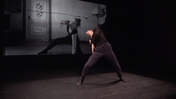 photo - Sarah Hutton performs in Shay Kuebler/ Radical System Art's Momentum of Isolation