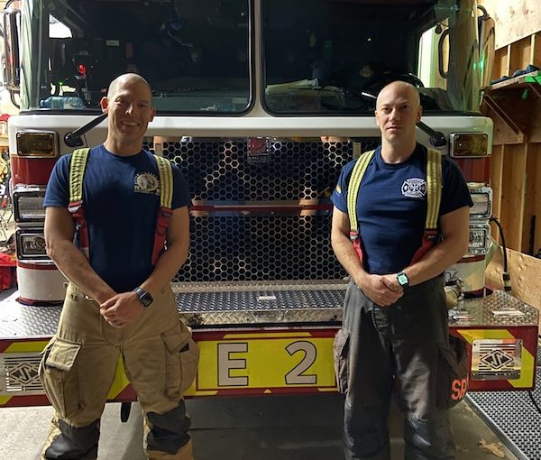 City's only Jewish firefighters?